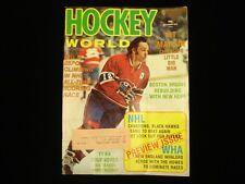 October 1973 Hockey World Magazine - Yvan Cournoyer Cover