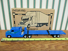 Compass Transportation Freightliner Semi With Flatbed Trailer By Ertl