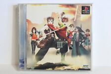 Arc The Lad III 3 Scratches PS1 PS PlayStation 1 PSX One Japan Import US Seller