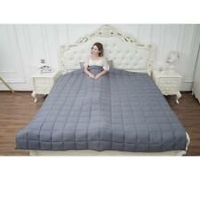 """Best Weighted Heavy Blanket 25lbs 80x87 80"""" x 87"""" Queen or King Size for Adults"""