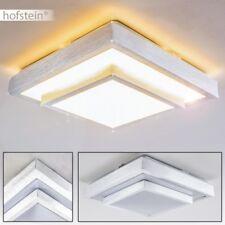 Design LED Deckenleuchte Quadrat Wohn Schlaf Zimmer Küchen Flur Diele Lampen