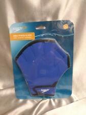 Speedo Aqua Fit Training Swim Gloves - Royal Blue - Medium