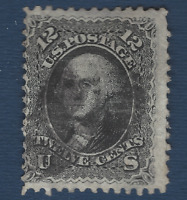 1861 US STAMP #69 USED 12c GEORGE WASHINGTON