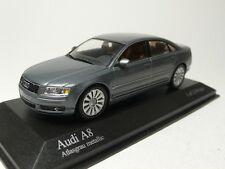 AUDI A8 2002 GREY METALLIC MINICHAMPS 400011800 1:43
