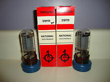 2 NOS MATCHED N.E. 6L6GC RADIO TUBES TYPE 6L6GC TESTED 38/25 & 37/25 GUITAR AMP