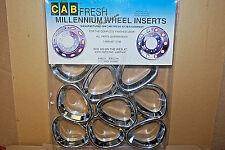 "Cab Fresh Millennium WHEEL INSERTS #KW225M (1-Pack) SILVER (22.5"") (#S6474-B)"