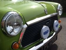 "0002-CLASSIC AUSTIN MINI MG COBRA 7"" HEAD LAMPS HEAD LIGHTS PAIR RHD CAR USE"