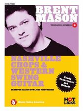 Brent Mason Nashville Chops & Western Swing Guitar Book with Online 014047858