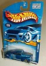 Hot Wheels 2000 Collector #239 Tail Dragger Mtflk Blue Silver Grey 3SPs 29295