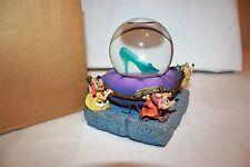 Walt Disney Cinderella Lighted Slipper Mice Snowglobe Original Box 20679