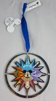 Disney Parks WDW Discover the Magic Mickey Mouse Compass Spinner ORNAMENT - New