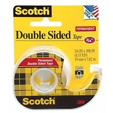 "3m 237 3/4"" Permanent Double Sided Scotch® Photo Safe Tape - Scotch Double Tapex"