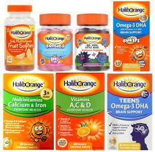 Haliborange Kids Multivitamins Calcium & Vitamin, Immune, Brain Support
