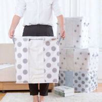 Large Storage Bag Foldable Clothes Blanket Quilt Closet Sweater Organizer Box