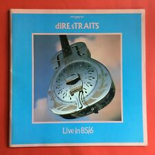 Dire Straits Brothers In Arms Live 85 86 Tour Programme Excellent Condition
