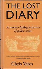 YATES CHRIS CARP FISHING BOOK THE LOST DIARY RIVER DIARIES SERIES hardbck SIGNED