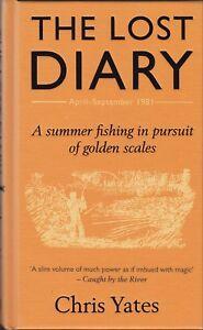YATES CHRIS CARP FISHING BOOK THE LOST DIARY RIVER DIARIES SERIES hardback NEW