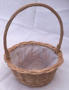 Wicker Wedding/ Display,Floral Basket.Small