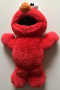123 Sesame Street Tickle Me Elmo Plush Toy