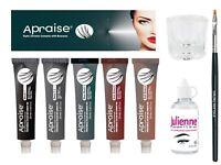Apraise Professional Eyelash & Eyebrow Tint Dye 20ml & Accessories UK Fast Post*
