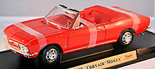 Chevrolet Corvair Monza Convertible 1965-69 rouge rouge 1:18 Yat Ming