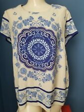 Cynthia Rowley, short sleeve shirt, size Medium