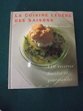 Livre cuisine la cuisine légère des saisons par HÉLÈNE VINCENT   S172 b4