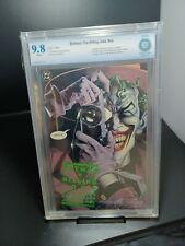 Batman The Killing Joke CBCS 9.8 NOT CGC W/P 1st Print white pgs