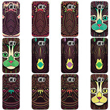 DYEFOR AZTEC ANIMALS HARD CASE COVER FOR SAMSUNG GALAXY MOBILE PHONES