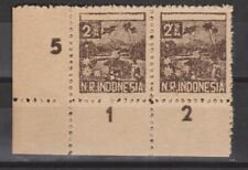 Indonesia Japanese occupation Sumatra 27 pair rand MNH PF Japanse bezetting