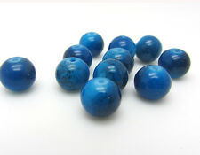 New Loose Charm 30pcs 8mm Round Glass Crystal Beads Jewelry Making In Blue