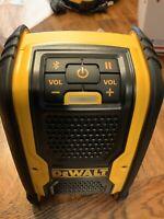 NEW Dewalt DCR006B 20V Max Job site Bluetooth Speaker Battery Operated Or Corded