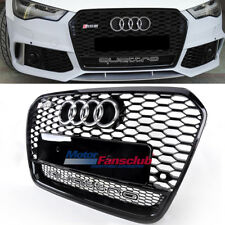 Front Radiator Grill Upper Grille With Quattro For For Audi A6 S6 RS6 C7 12-15