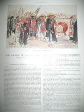 ROUTE MANDARINE INDOCHINE ANNAM TONKIN HANOÏ PHU-QUI L'ILLUSTRATION 1925