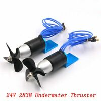 24V Underwater Thruster Propeller Brushless Submersible Motor for DIY Jet Engine