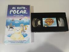 EL OSITO POLAR HANS DE BEER INFANTIL ANIMACION VHS CINTA TAPE CASTELLANO