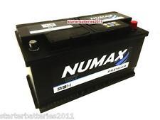 AUDI, BMW, CHRYSLER, FORD, JAGUAR, JEEP, LAND ROVER Car Battery - NUMAX TYPE 019