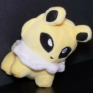 "2013 Pokemon Center Nintendo GAME FREAK Toys Jolteon Eevee 4"" Soft Stuffed Plush"