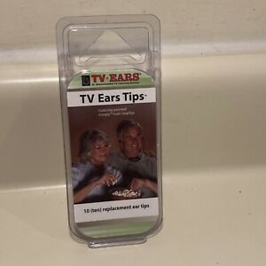 TV Ears Comply Foam Snap Tips 7 Tips Remaining