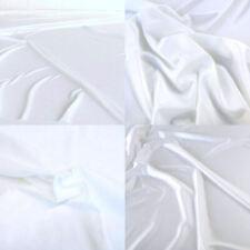 weiß T-Shirt-JERSEY aus 100/% Baumwoll-Stoff super Weich und elastisch Meterware