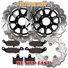 Suzuki F+R Brake Rotor + Pads GSF 650 Bandit Faired & Naked (Non ABS)(2005-2006)