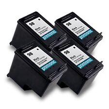 4pk Hp 98 C9364WN Black ink print cartridges