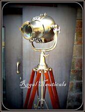 STUDIO LAMP CHROME HOME DECOR SEARCH LIGHT SPOT LIGHT TRIPOD FLOOR LAMP