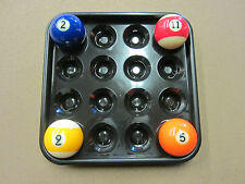 Ball Tray for Pool & Billiards - Holds full Set of 16 Balls