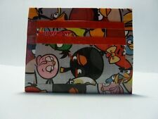 Duct Tape MINI WALLET WITH ANGRY BIRDS ALL OVER IT Handmade