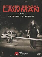 Steven Seagal's LAWMAN - Complete 1st Series. It's No Act. (2xDVD SET 2009)