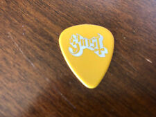 Used Ghost Guitar Pick Yellow Triangle Concert