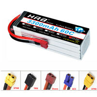 HRB 3300mAh 6S Lipo Battery 22.2V 60C 120C for FPV UAV Helicopter Quadcopter Car