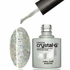 Diamond Glitter Nail GEL Polish by Crystal-g UV LED Soak 8ml Post D18