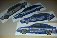 Andy Rouse BTCC sticker set of 4 time champion Ford Rover Dolomite Alfa Romeo